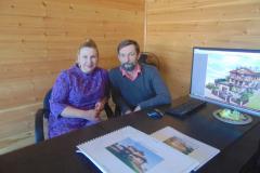 Фото с клиентами Ксении Шварц - Гид по недвижимости