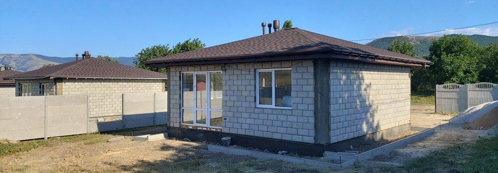 Дом 60 кв.м. в Перевальном в Крыму под сельскую ипотеку