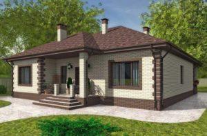 Дом 100 кв.м. в пригороде Симферополя – Продажа от застройщика