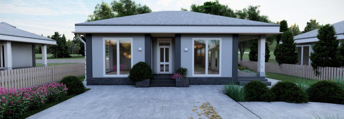 Продажа дома 63 кв.м. в КП «Малая Швейцария», Симферополь