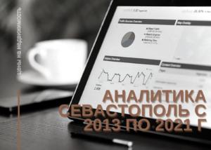 Аналитика цен на недвижимость Севастополь с 2013 по 2021 г.